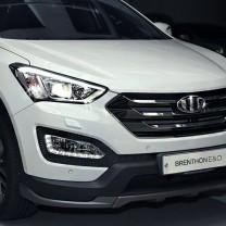 [Brenthon] Hyundai Santa Fe DM - BEH-H51 2-nd Generation Emblem Set