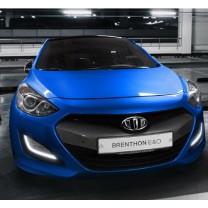 [Brenthon] Hyundai New i30 - 2-nd Generation Emblem Set (BEH-H57)