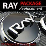 [7X] KIA Ray - 3D Replacement Emblem Package