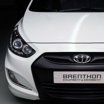 [Brenthon] Hyundai New Accent - BEH-H32 Emblem Set
