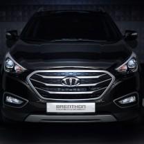 [Brenthon] Hyundai New Tucson iX - BEH-H38 Emblem Set