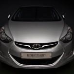 [Brenthon] Hyundai Avante MD - BEH-H6 Emblem Set