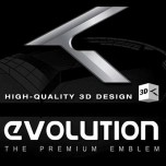 [ZEO] Hyundai Genesis Coupe - High Quality 3D Evolution K Emblem Package