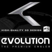 [ZEO] Hyundai Genesis Coupe - High Quality 3D Evolution K Emblem Package