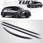 [MOBIS] Hyundai Veloster - TUIX Lower Carbon Kit