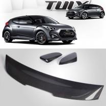[MOBIS] Hyundai Veloster - TUIX Upper Carbon Molding  Kit