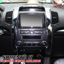[AUTO CLOVER] Sorento R - Interior Center Fascia Chrome Molding Set (B628)