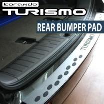 [CARROS] SsangYong Korando Turismo - Aluminum Bumper Trunk Molding