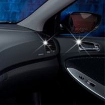 [AUTO CLOVER] Hyundai New Accent - Interior Chrome Molding Kit (B786)