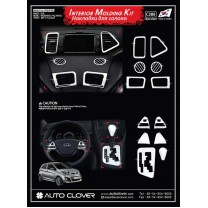 [AUTO CLOVER] KIA All New Morning - Interior Chrome Molding Kit (C386)