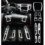 [AUTO CLOVER] KIA New Sorento R -  Interior Chrome Molding Kit (C392)