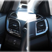 [KYUNG DONG] Hyundai New Accent - Interior Black Color Plating Chrome Molding Set (D-401)