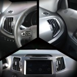 [KYOUNG DONG] KIA Sportage R - Interior Black Color Plating Chrome Molding Set (D-402)