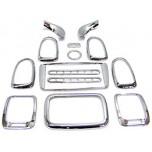 [KYUNG DONG] Hyundai New EF Sonata (2001-2001/12, w/o airbag) Interior Chrome Molding Set (K-289)