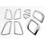 [KYUNG DONG] Hyundai New Accent - Interior Chrome Molding Set (K-825)
