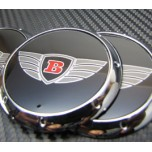 [7X] Bentley Logo Wheel Cap Set (60mm)