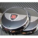 [7X] Bentley Logo Wheel Cap Set (60mm)