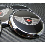 [7X] Chevrolet Style Logo Wheel Cap Set (60mm)