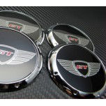 [7X] Quality Wheel Cap Set GT-Logo 60mm