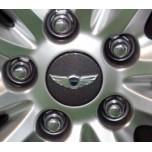 [NOBLE STYLE] Hyundai Genesis Coupe - Wheel Cap Set