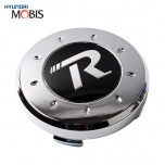 [MOBIS] KIA - Genuine R-Logo Wheel Cap Emblem Set