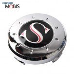 [MOBIS] HYUNDAI - Genuine S-Logo Wheel Cap Emblem Set