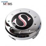 [MOBIS] HYUNDAI - Genuine S-Logo Wheel Cap Emblem Set