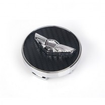 [7X] HYUNAI / KIA - Transwing Carbon Wheel Cap Emblem Set