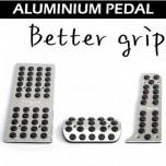 Накладки на педали Better Grip (алюминий) - Hyundai Genesis Coupe (RSW)