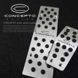 [DXSOAUTO] CHEVROLET - Concepto Point Sports Pedal Plate Set