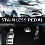 [PATMOS] Hyundai Santa Fe DM  - Luxury Stainless Organ Pedal Set - 4 PCS