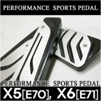 [GREENTECH] BMW X5 (E70) X6 (E71) - Performance Sports Aluminum Pedal Set
