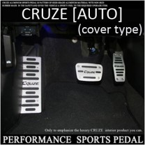 [GREENTECH] Chevrolet Cruze (A/T) - Performance Sports Aluminum Pedal Set
