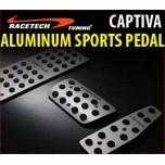 [RACETECH] Chevrolet Captiva - Premium Sports Pedal Plate Set
