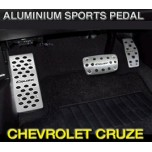 [GREENTECH] Chevrolet Cruze - Aluminum Sports Pedal Set