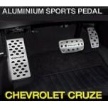 [GREENTECH] Chevrolet Cruze - Aluminum Sports Pedal Set