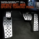 [GREENTECH] INFINITI M37/M56 - Aluminum Sports Pedal Set
