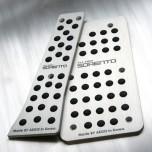 [AEGIS] KIA All New Sorento UM - Aluminum Sports Pedal Plate Set