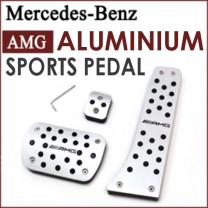 [GREENTECH] Mercedes-Benz AMG - Aluminum Sports Pedal Plate Set