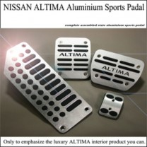 [GREENTECH] Nissan Altima - Aluminum Sports Pedal Plate Set