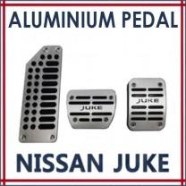 [GREENTECH] Nissan Juke - Aluminum Sports Pedal Plate Set