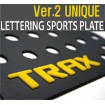 [DXSOAUTO] Chevrolet Trax- Lettering Sports Plate Ver.2 Unique (A Pillar)