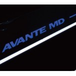 [DMZ] Hyundai Avante MD - Performance Moving LED Door Sill Scuff Plates