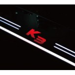 [DMZ] K3 - Performance Moving LED Door Sill Scuff Plates Set