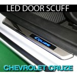 [GREENTECH] Chevrolet Cruze - LED Door Sill Scuff Plates Set