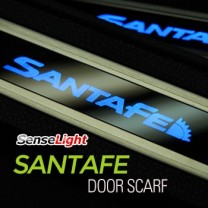 [SENSE LIGHT] Hyundai Santa Fe DM - LED Door Sill Scuff Plates Set