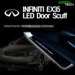 [GREENTECH] INFINITI EX35 - LED Door Sill Scuff Plates Set