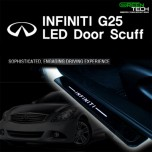 [GREENTECH] Infiniti G25 - LED Door Sill Scuff Plates Set