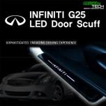 [GREENTECH] Infiniti G25 - LED Door Sill Scuff Plates Set