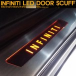 [GREENTECH] INFINITI  - LED Door Sill Scuff Plates Set